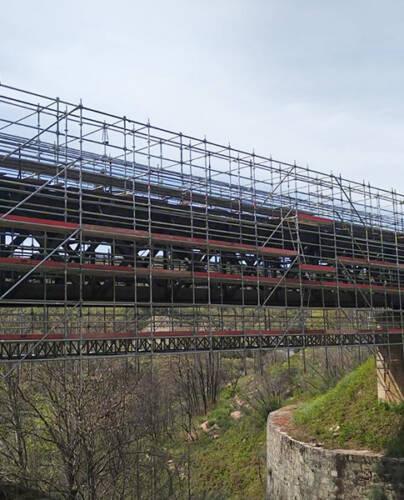 Ponte das Silveiras<br>Recalificación de la Línea Beira. Tramo Covilhã – Guarda